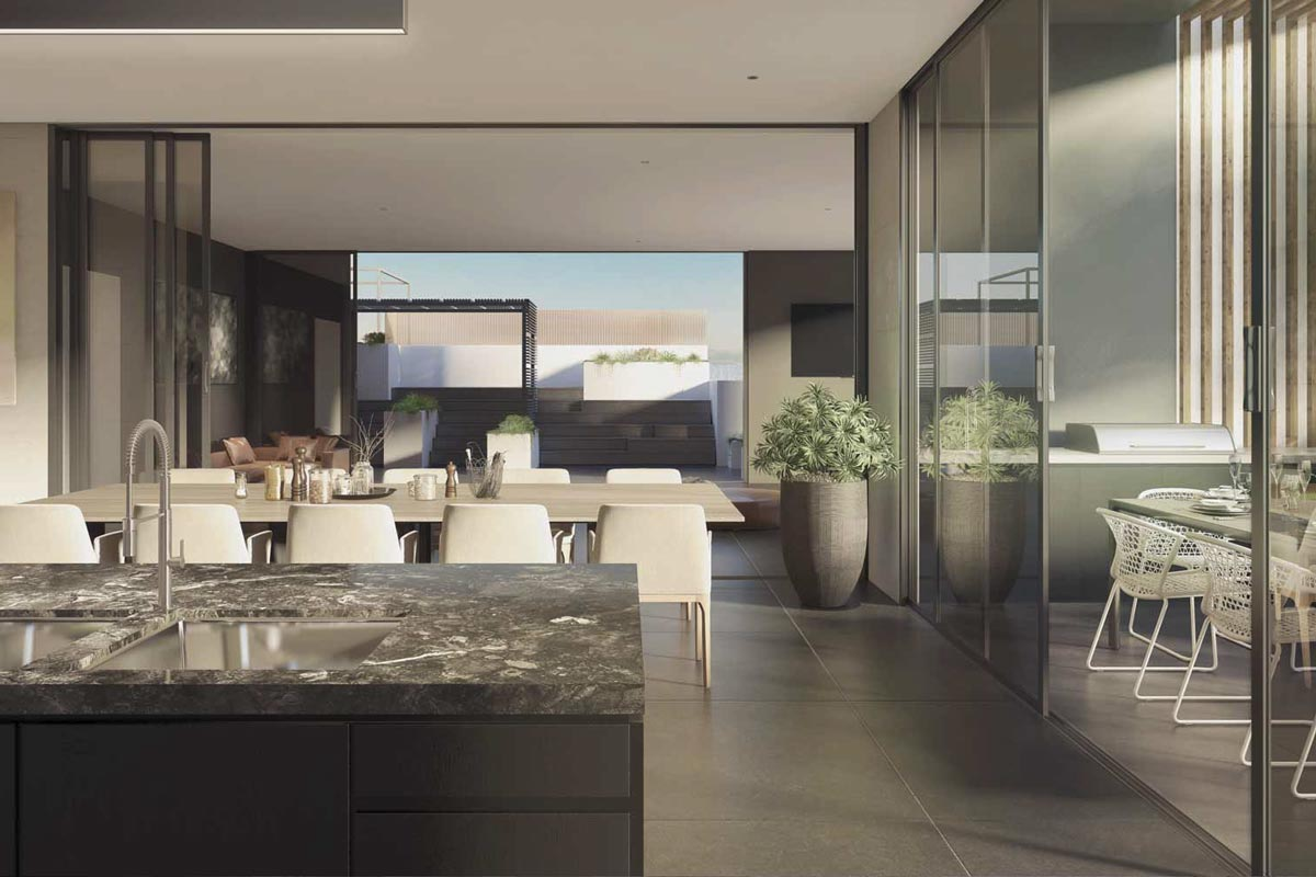 Central Park Box Hill Residents Lounge