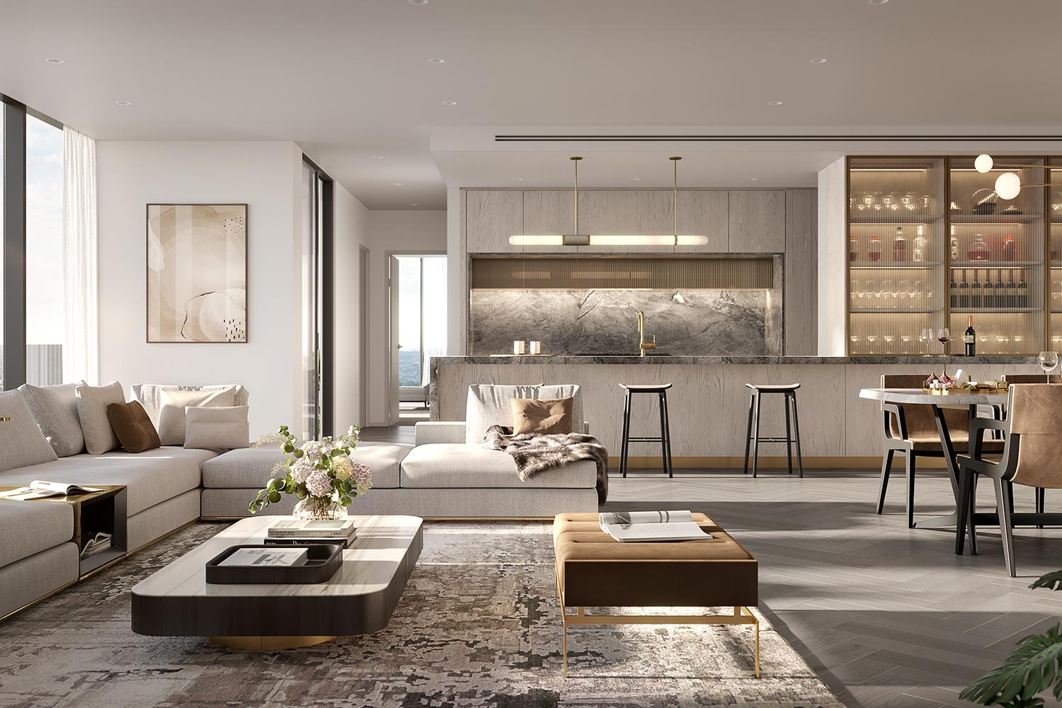 Spring St Box Hill Penthouse Interior