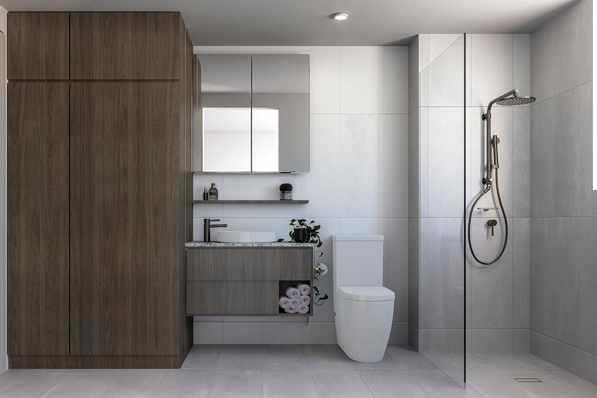 35 Hall St Moonee Ponds Bathroom