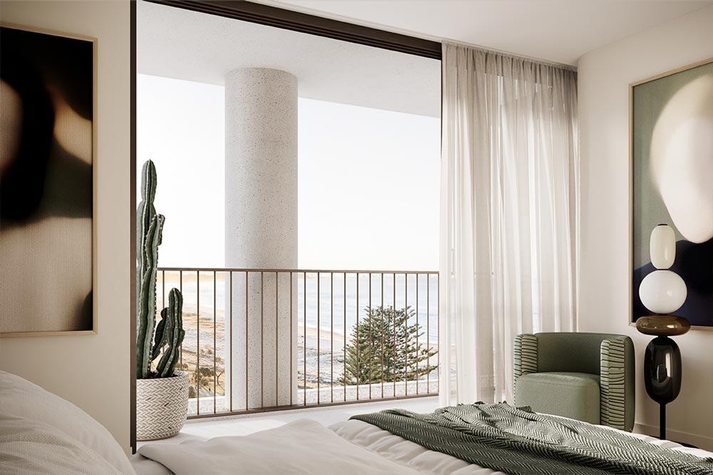 Emerson Kirra Beach Master Bedroom