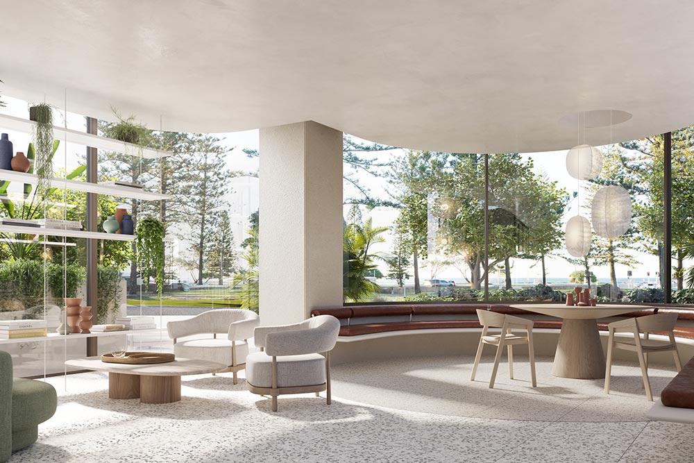 Emerson Kirra Beach Residents Lounge