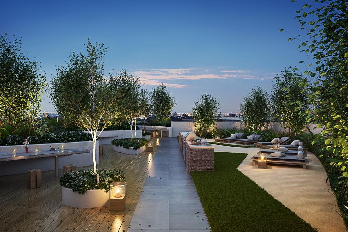 1060 Carnegie Rooftop Terrace